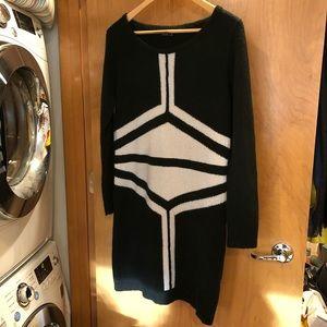 BCBG Max Azria sweater dress L